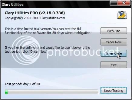 Bản quyền Glary Utilities Pro v2 miễn phí
