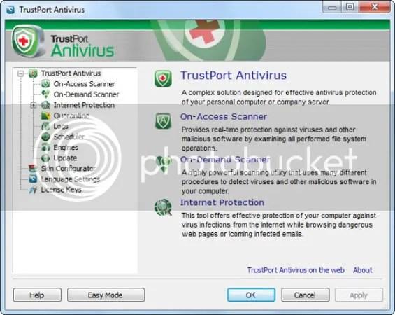 Bản quyền TrustPort Antivirus 2010 miễn phí 3 tháng