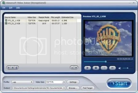 Download Aimersoft Video Joiner và Video Cutter miễn phí