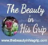 Beauty in His Grip Button