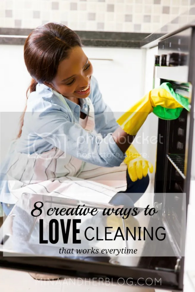 If you're anything like me who get easily bored when it comes to cleaning, fear not here are 8 creative ways to love cleaning that works everytime