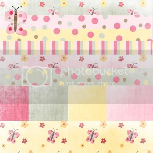 butterfly digital scrapbooking papers