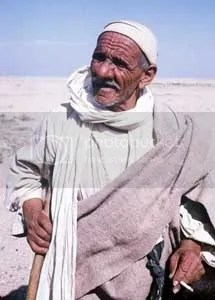 A friendly Bedouin