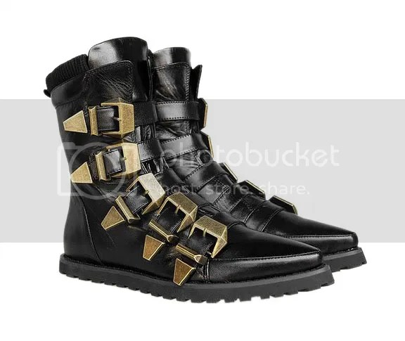 Alexander Wang multi-strap boot
