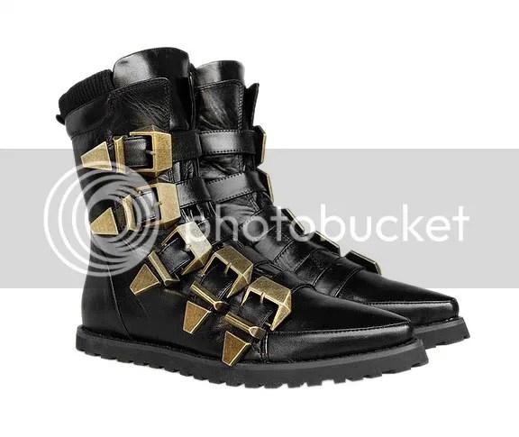 Alexander Wang multi-strap boot