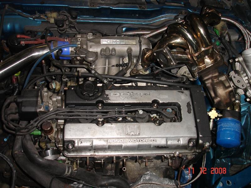 Projet Crx B16a1 Turbo Annule Vente Des Pieces