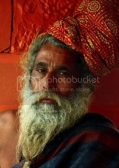 The Red Turban Sadhu