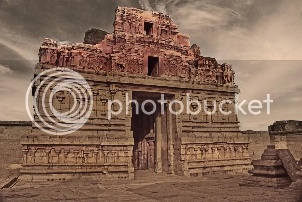 Broken Krishna Temple, Hampi
