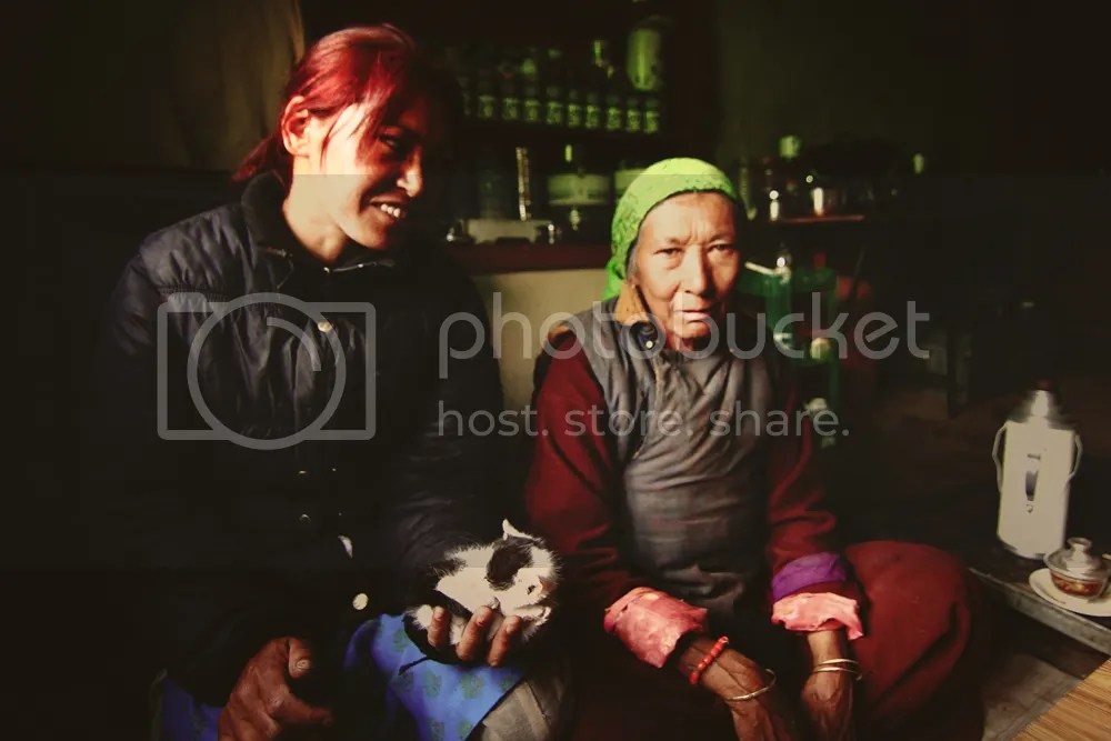 Women in one of the remote corners of Ladakh