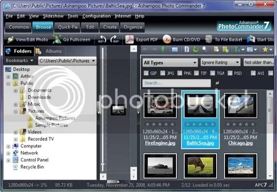 Download Ashampoo Photo Commander 7.5 với key bản quyền miễn phí