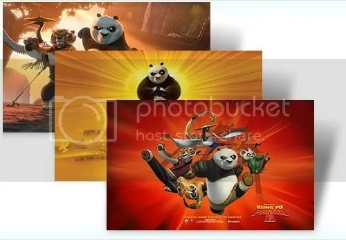 Download theme Kung Fu Panda 2 cho Windows 7