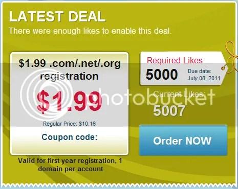 Mua tên miền với giá 1,99$ tại Namecheap