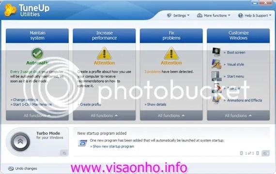 TuneUp Utilities 2010 với key code bản quyền
