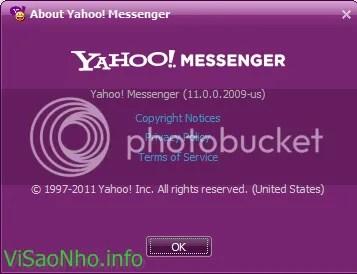 Yahoo! Messenger 11 final chính thức trình làng