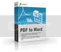 Download Simpo PDF to Word 3 Beta với key bản quyền miễn phí