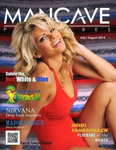 Mancave Playbabes – July and August 2014 sexy women sex man caves man cave hot babes