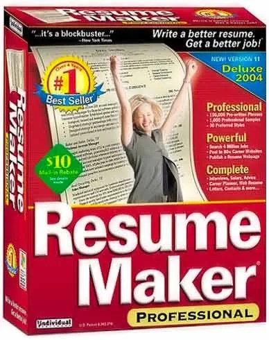 all you like individual software resume maker pro deluxe v17 0