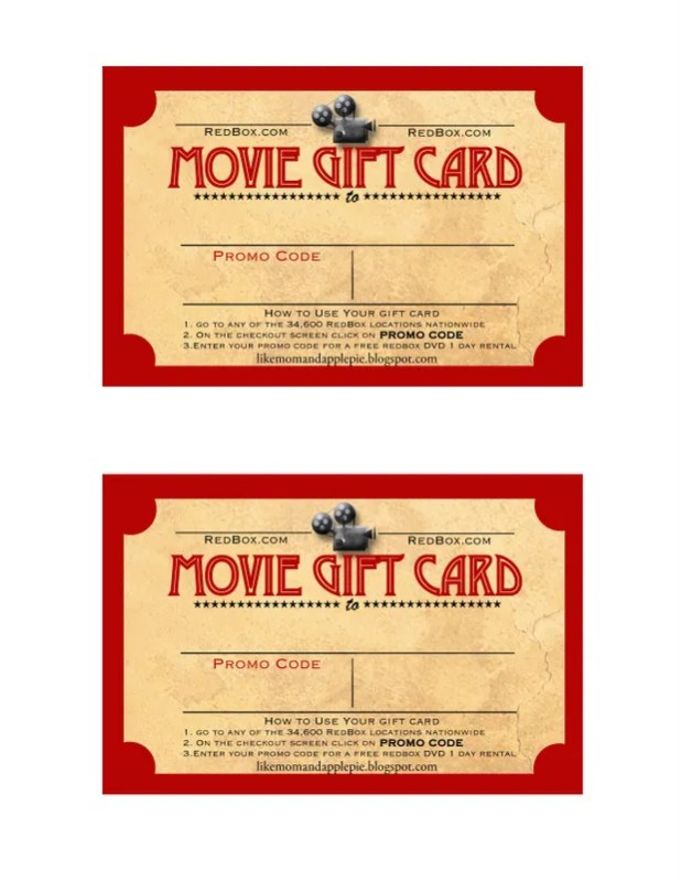redbox gift cards at target   Giftsite.co