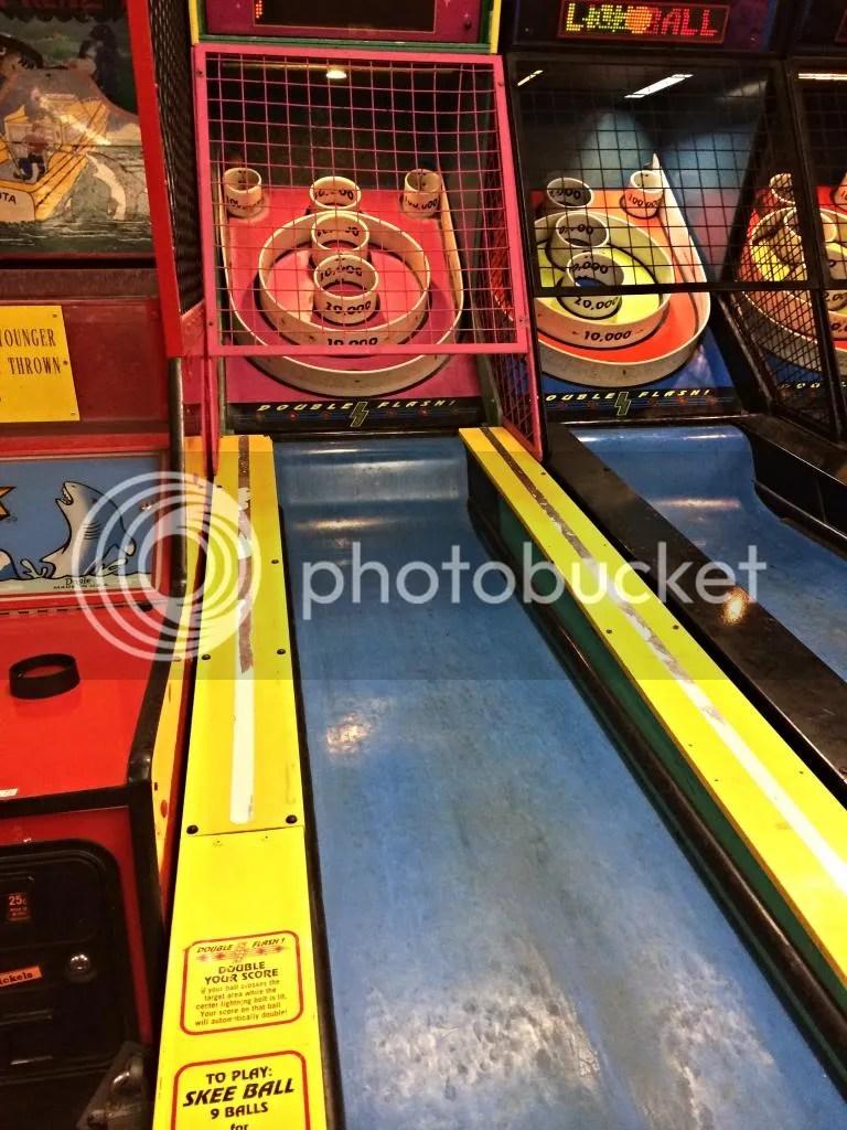 skeeball, arcade