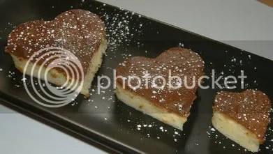 cuori di japanese cake