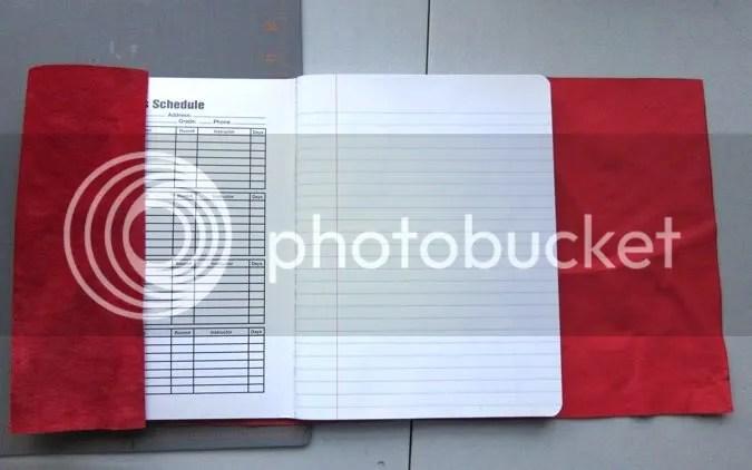 studio waterstone tutorial suede journal cover