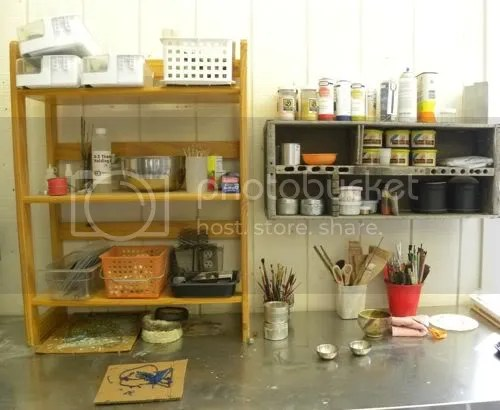 featuring studio spaces: Painting with Fire Artwear Studio Waterstone