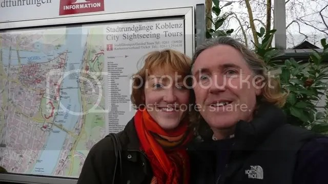 Tourists in Koblenz!