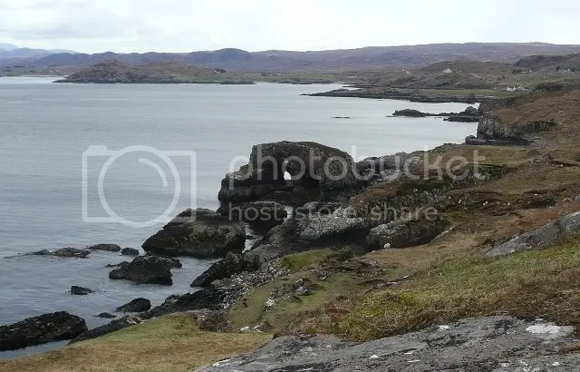 Loch Ewe coastline at Cove