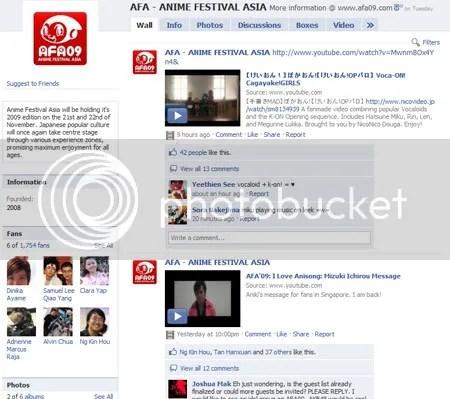 AFA Facebook