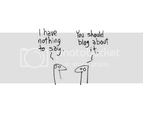 Nothing to Blog About