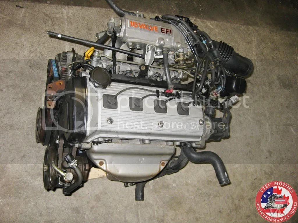 92 94 Toyota Paseo Engine Jdm 5efe Dohc 1 5l 16 Valva 4