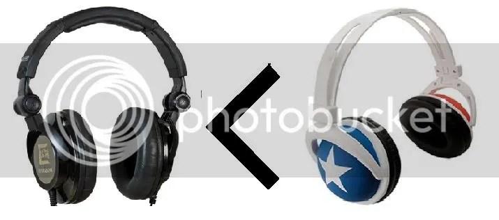 tai nghe thường vs mix style