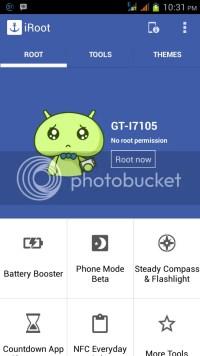 root android dengan iroot