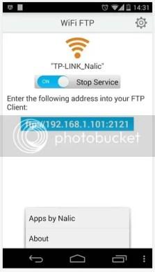 transfer file android via wifi