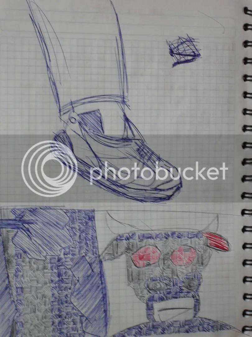 Mi dibujo, dele click para apreciar el detalle xD