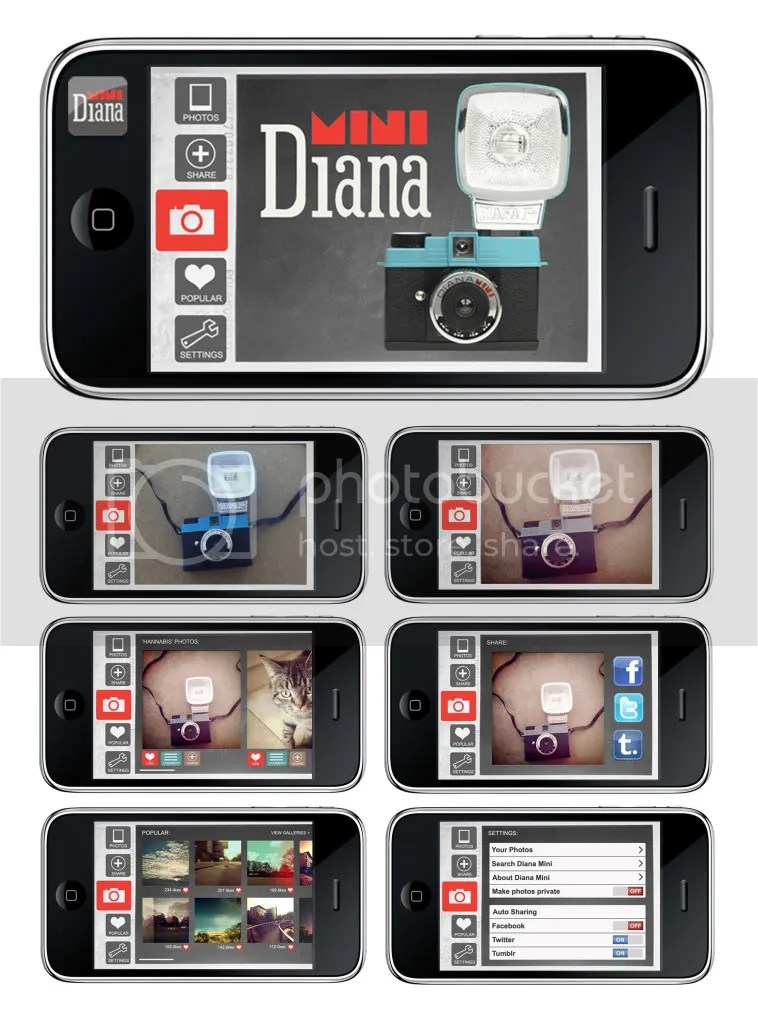 Diana Ipod App