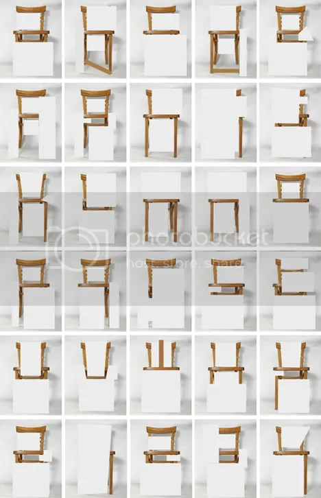 Chair Form - An Unconventional Alphabet By Amandine Alessandra