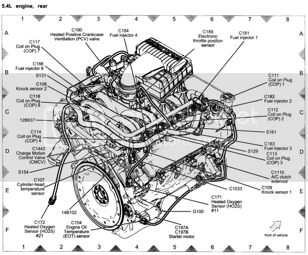 Ford Mustang V6 Engine