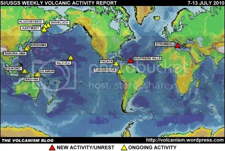SI/USGS Weekly Volcanic Activity Report 7-13 July 2010