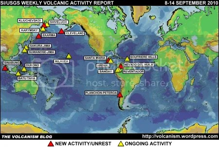 SI/USGS Weekly Volcanic Activity Report 8-14 September 2010