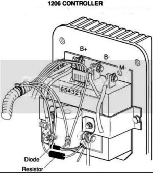 Basic Ezgo electric golf cart wiring and manuals