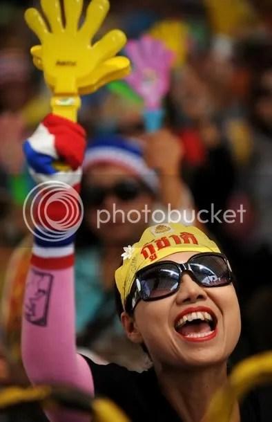A Thai nationalist 'Yellow Shirts'