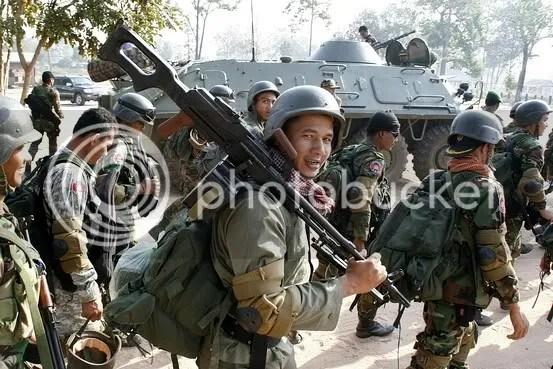 Clashes Resume on Thai-Cambodia Border