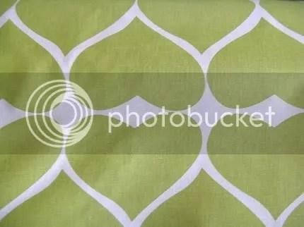 umbrella prints green hearts organic cotton