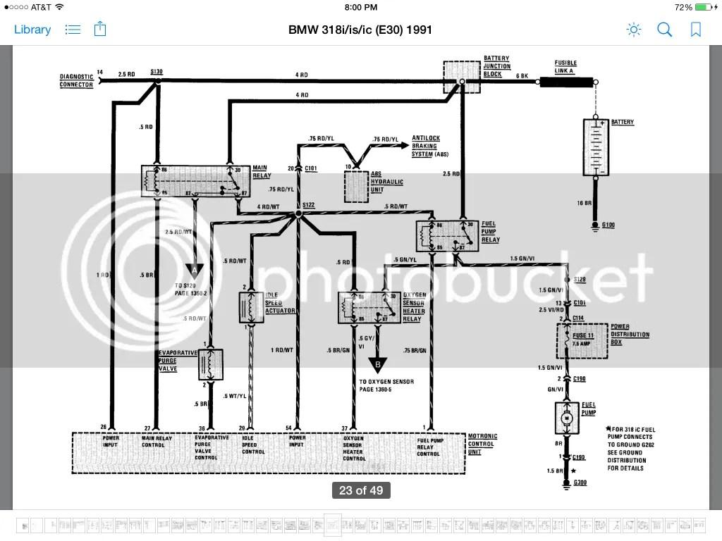 Bmw E46 Fuel Injectors Wiring Diagram