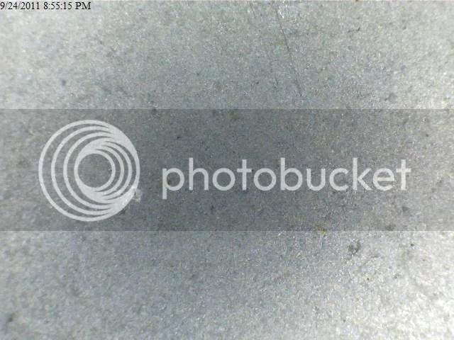 Extra Fine DMT Diamond Plate - Macro