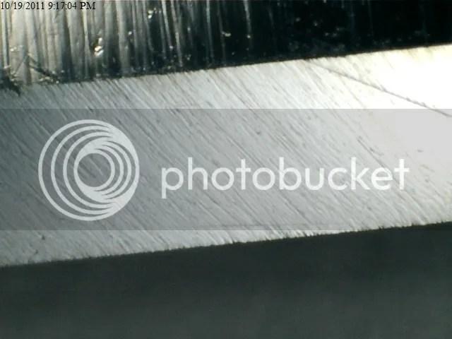 Klas Tornblom 185 - 8K Shapton Glass