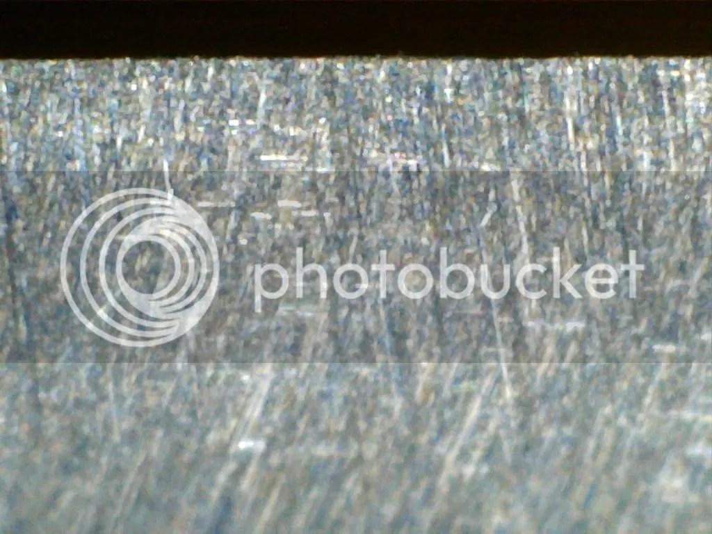 WEPS Shapton Pro 2K - Scrubbing