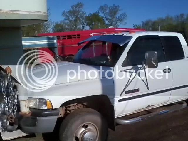 Stainless Drop Visor Dodge Cummins Diesel Forum