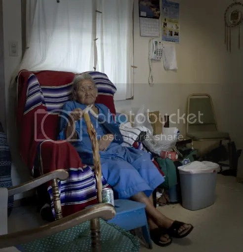 Lakota grandmother Alice Four Horns